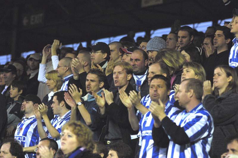 Bristol City Game 03 November 2001