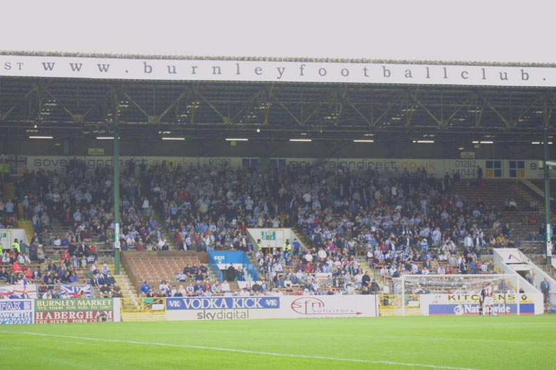 Burnley Game 10 August 2002