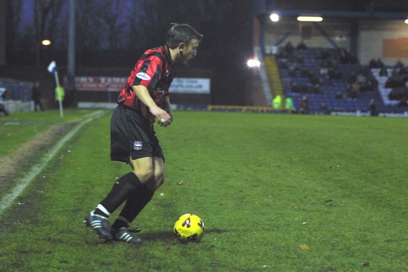Bury Game 01 December 2001