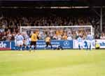 Kuipers Saves, as the home fans show anguish