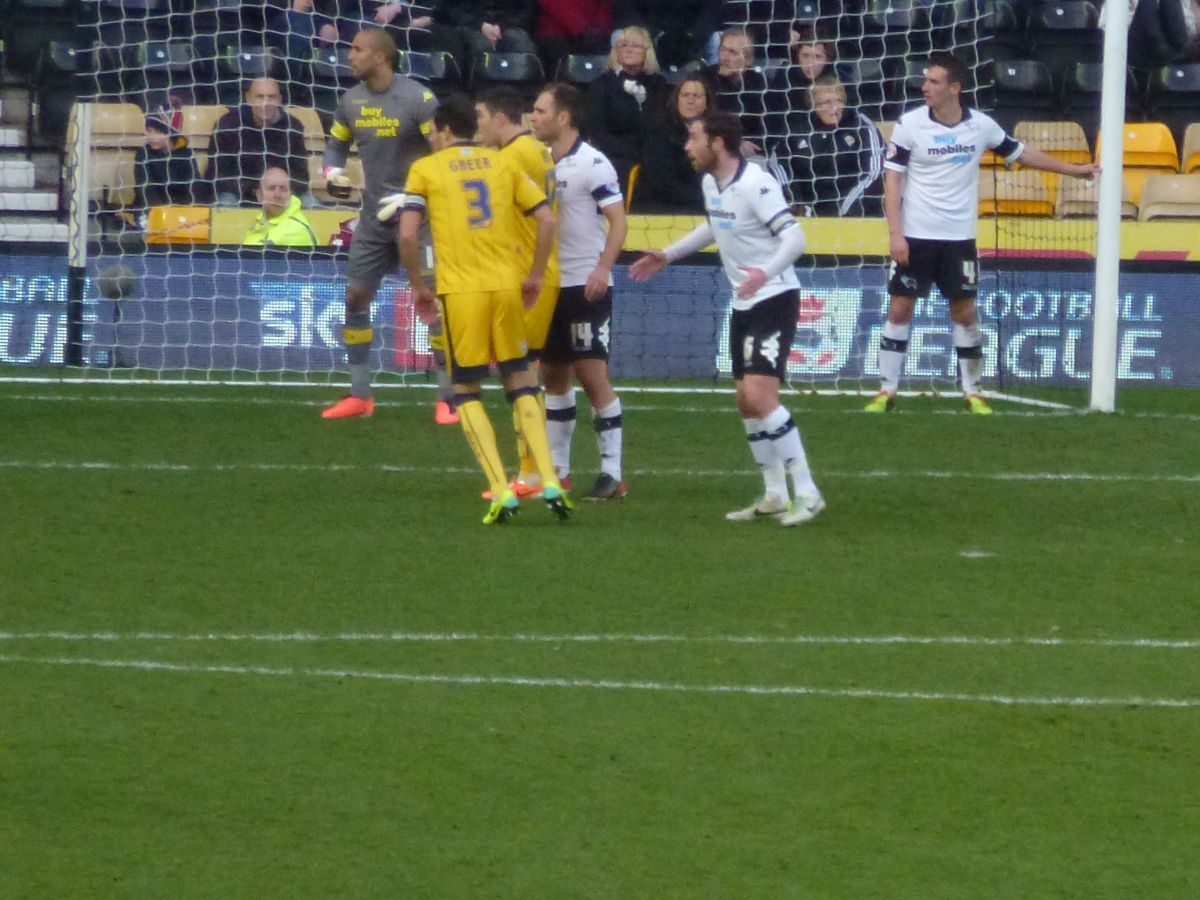 Derby County Game 18 January 2014 Image number 039