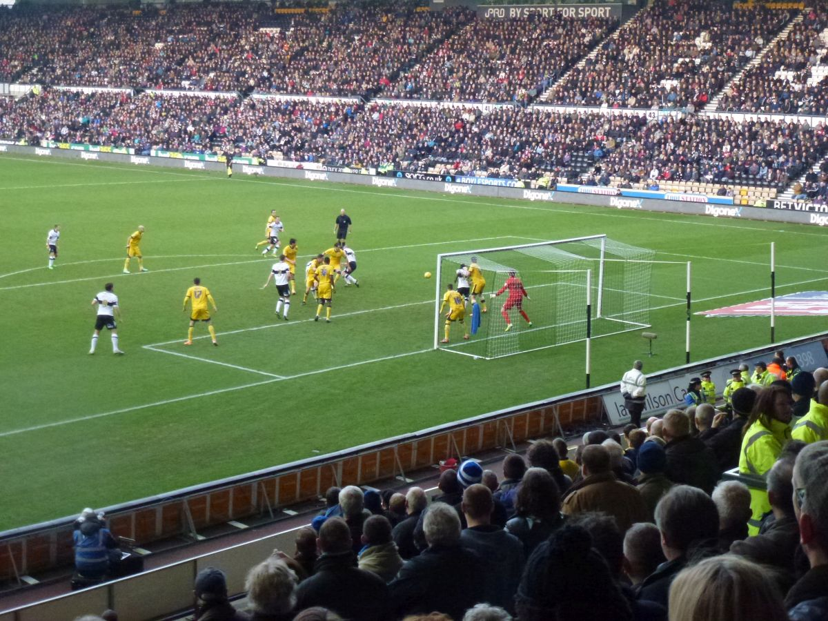 Derby County Game 18 January 2014 Image number 046