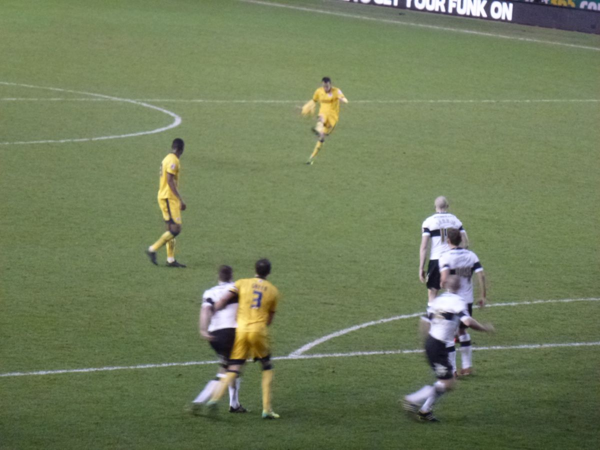 Derby County Game 18 January 2014 Image number 056