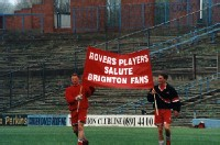 Doncaster Players show their respect