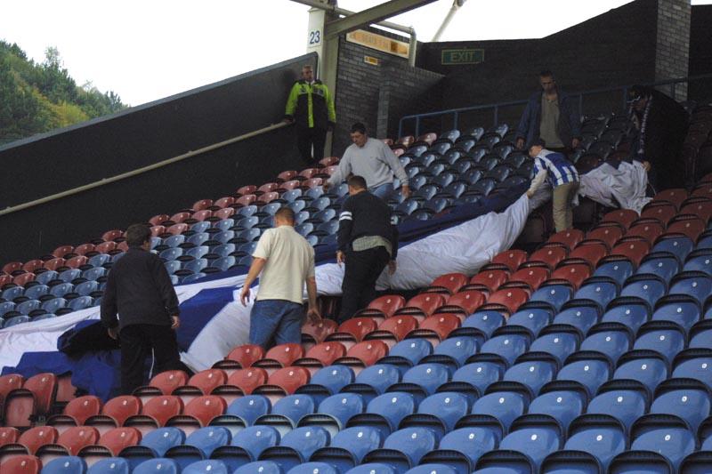 Huddersfield Game 13 October 2001