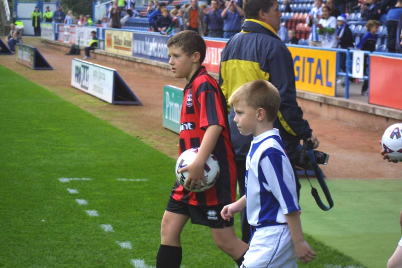Huddersfield Game 13 October 2001