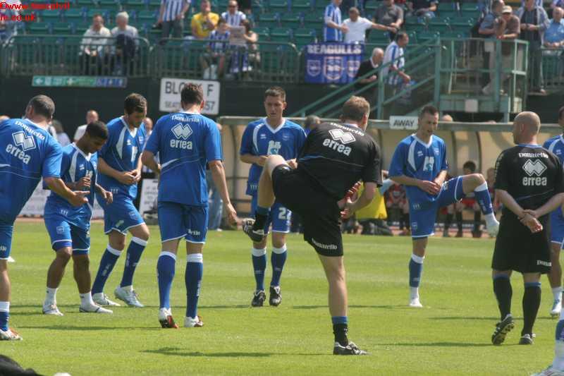 Huddersfield Game 30th April 2011