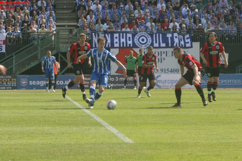 Huddersfield Game 30th April 2011