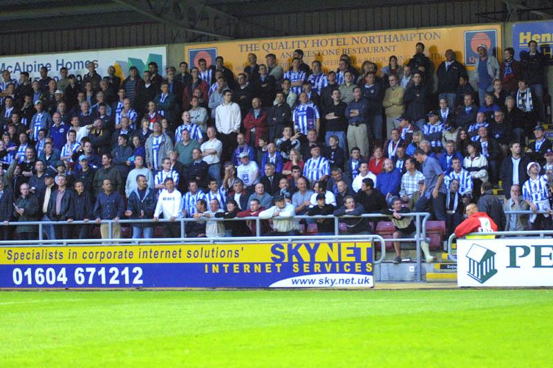 Northampton Game 31 August 2001