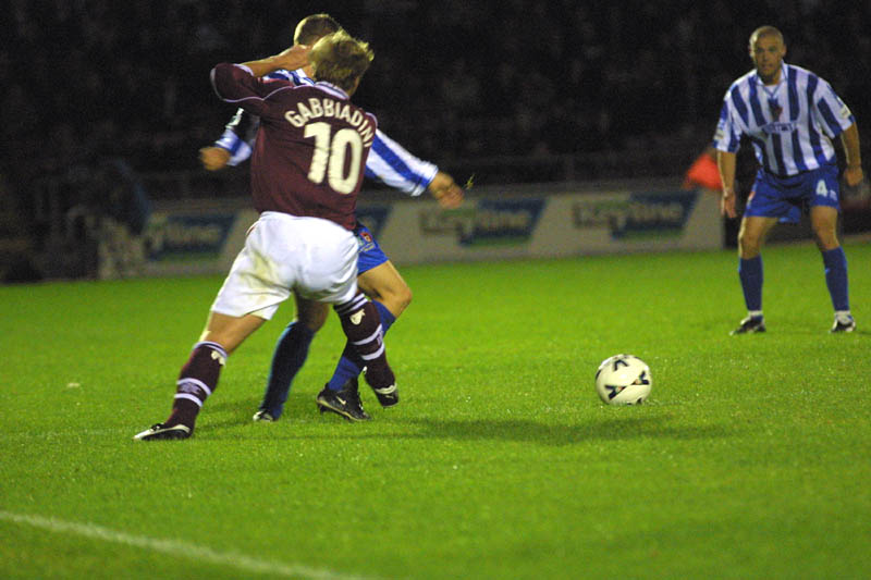 Northampton Game 31 August 2001