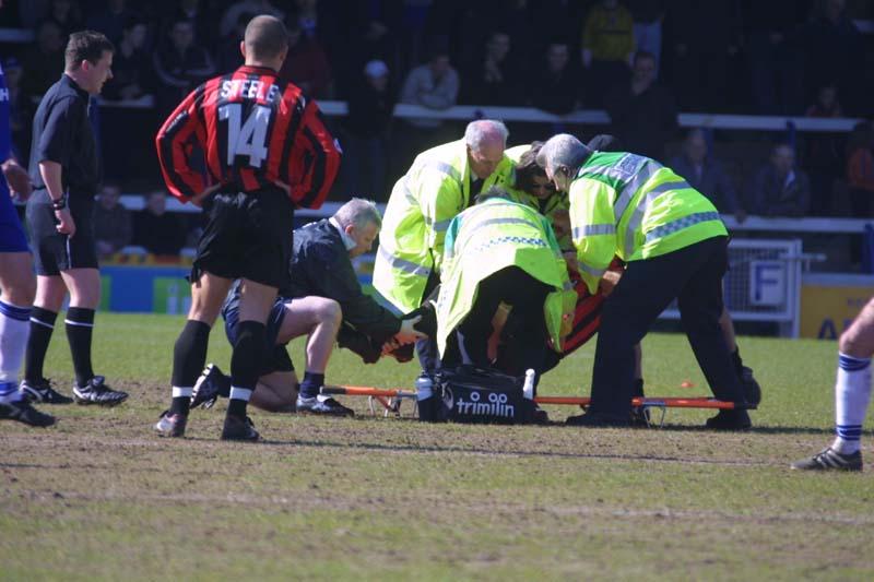 Peterborough Game 30 March 2002