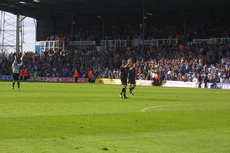 Portsmouth Game 31 August 2002