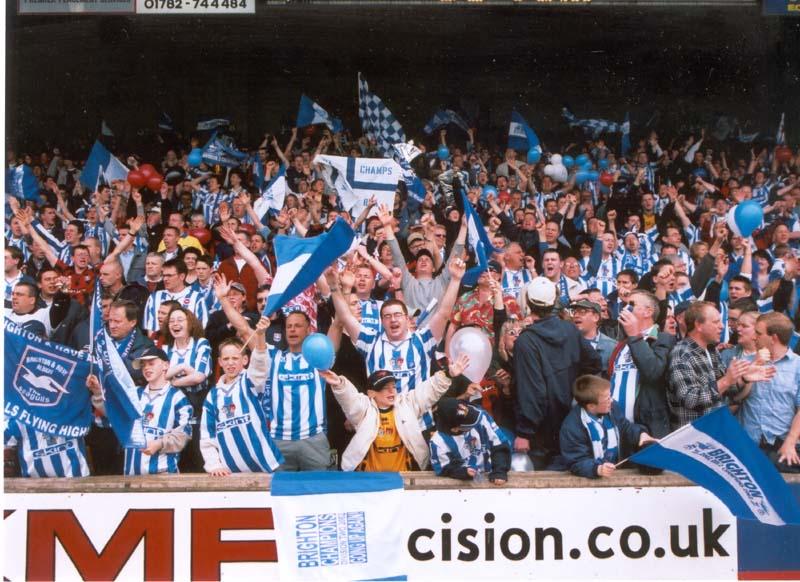 Port Vale Game 20 April 2002