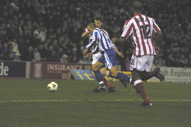 Stoke City Game 01 March 2002