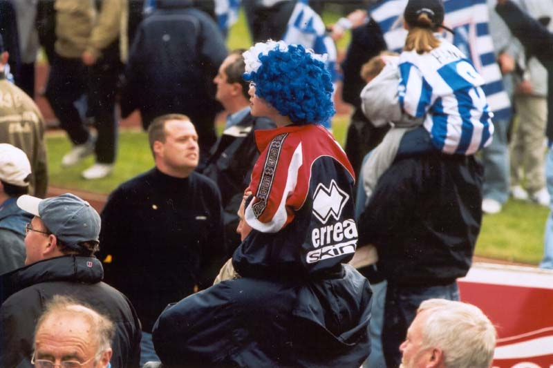 Swindon Town Game 13 April 2002