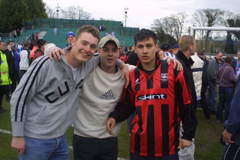 Swindon Town Game 13 April 2002