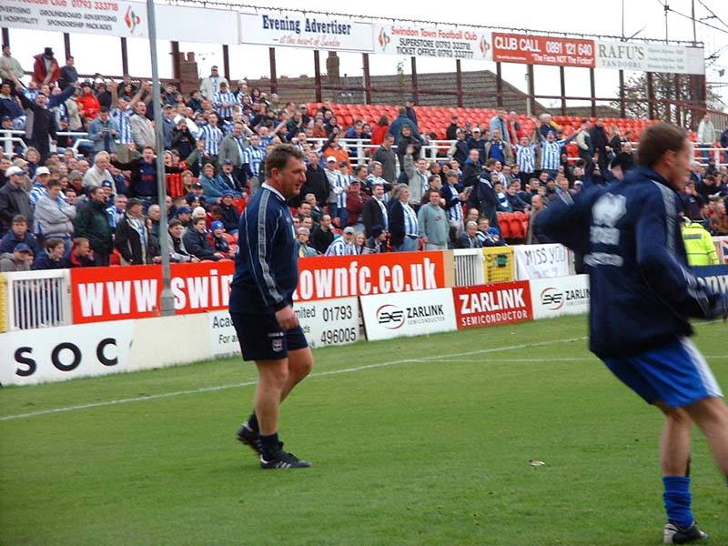 Swindon Town Game 24 November 2001