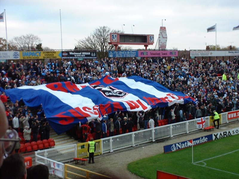 Swindon Town Game 24 November 2001