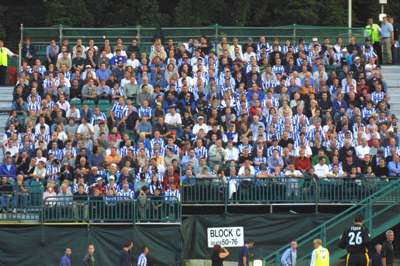Wimbledon Game 21 August 2001