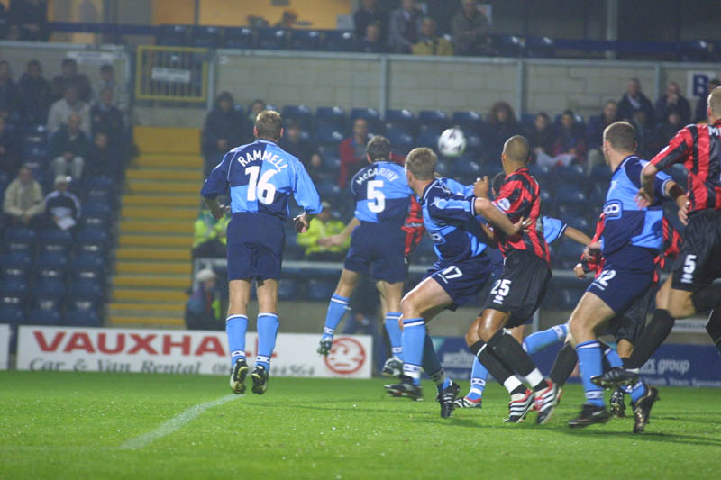 Wycombe Game 25 September 2001